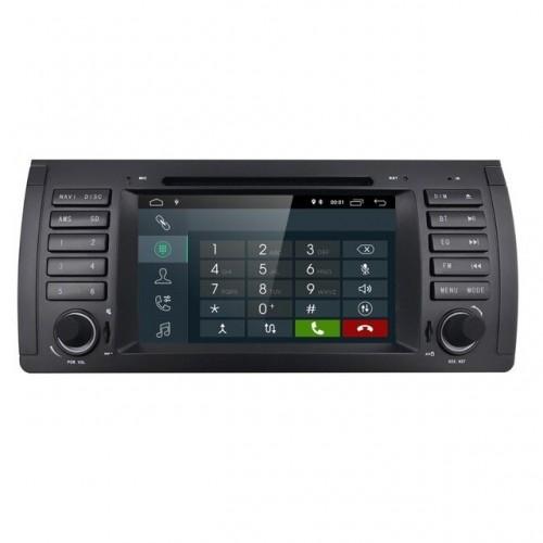 7 инча Авто Мултимедия с Андроид за BMW 5 Series E39 /X5,  E53/M5, 7 Series E38 с Навигация, CANBUS, Bluetooth, Камера за паркиране