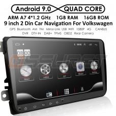 9 инча Авто Мултимедия с Андроид за SEAT Leon, Altea, Toledo с Навигация, CANBUS, Bluetooth, Камера за паркиране