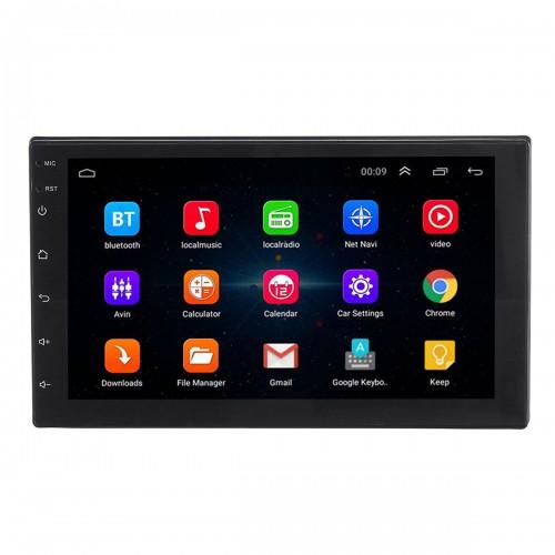 7 инча Универсална Авто Мултимедия с Андроид, GPS, Навигация, Видео паркиране, Bluetooth, Дистанционно за волана, USB слот, Radio Tuner