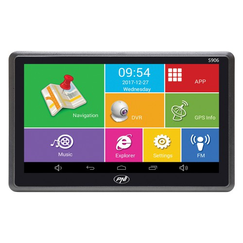 7 инча Авто GPS навигационна система с Андроид + DVR камера