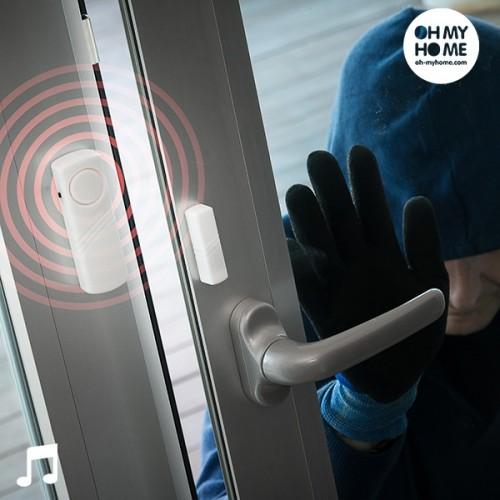 Безжична Аларма за Врати и Прозорци, опаковка от 3бр.