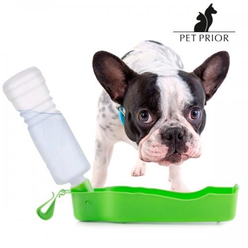 Преносим Диспенсър за Вода с Бутилка Pet Prior за домашни любимци